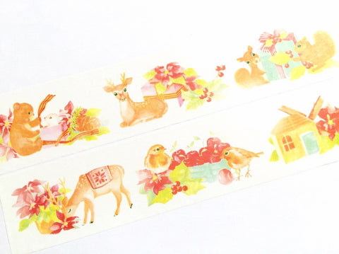 The Christmas deer and friends washi tape