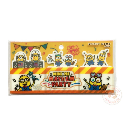 Minions Mayhem party sticky notes