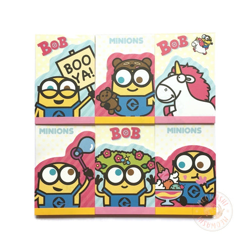 Bob the Minion mini memo pad