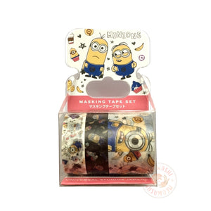 Minions washi tape set