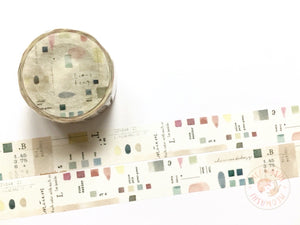 Liang Feng x Syoukei limited edition washi tape - Colors MTW-LF083