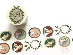 La dolce vita x Syoukei limited edition washi tape - Literature and art girl MTW-LD014