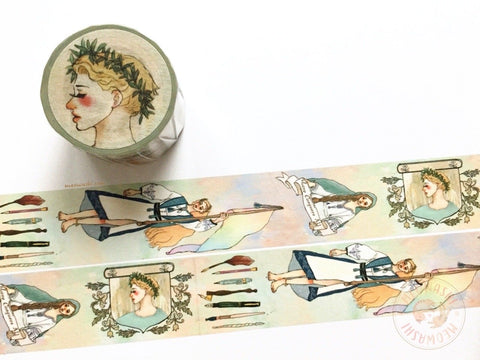 La dolce vita x Syoukei limited edition washi tape - Love conquers all MTW-LD015