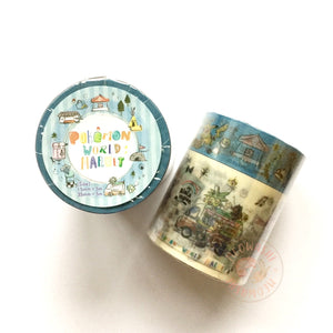 Pokemon world market washi tape set