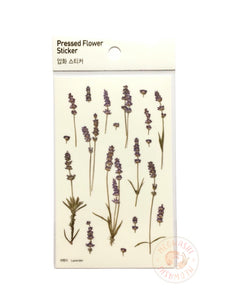 Appree pressed flower sticker - Lavender APS-008