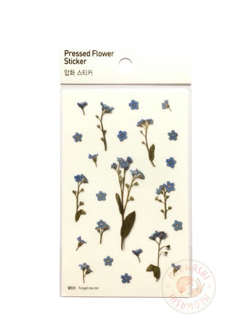 Appree pressed flower sticker - Forget me not APS-005