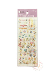 DELFiNO schedule seal - Donald duck clear sticker DZ-80681