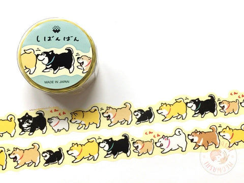 Mind Wave - Shibanban die cut washi tape 94494