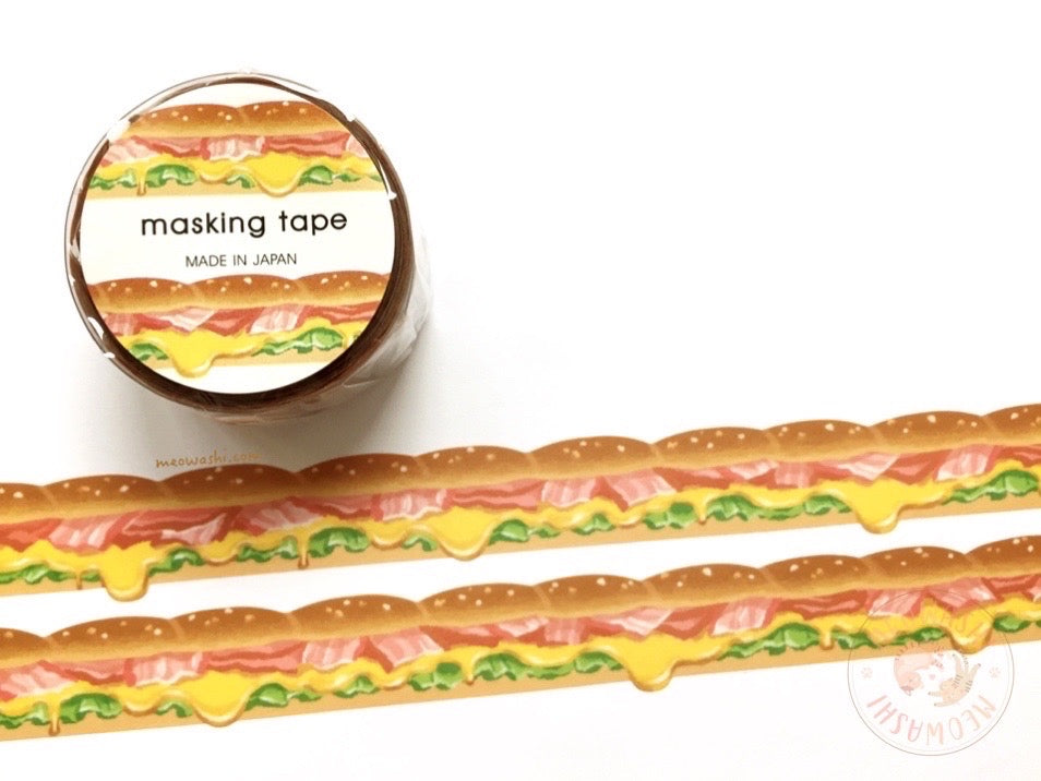 Mind Wave - Sandwich die cut washi tape 94669