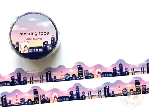 Mind Wave - Skyline die cut washi tape 94675
