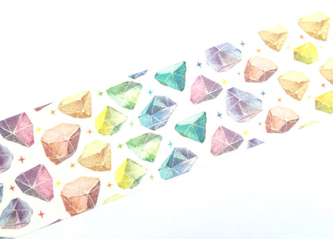 Colorful space fragments washi tape