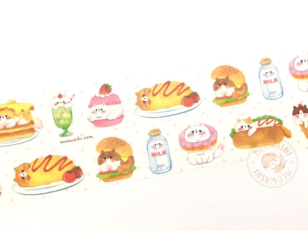 Papier Platz YOKO - Food washi tape 37-816