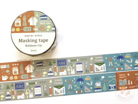 Papier Platz Eric small things - Colors washi tape 37-836
