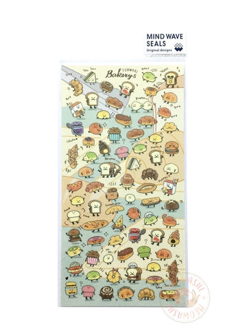 Mind Wave - Funwari bakery clear sticker 78236
