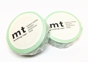 Kamoi mt basic color - pastel mint washi tape