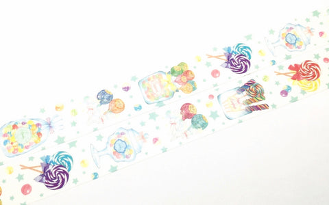 Manet Vol.5 - Lollipop washi tape