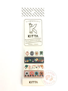 KITTA Basic portable washi tape - Decoration