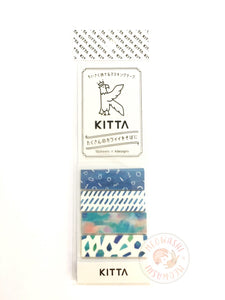 KITTA Basic portable washi tape - Glass