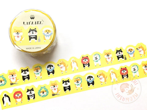 Mind Wave - Endless Shibanban die cut washi tape