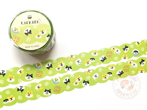 Mind Wave - Shibanban round and round die cut washi tape