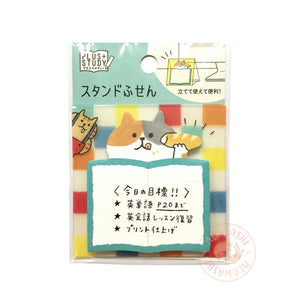 Mind Wave plus study sticky notes - GOROGORO NYANSUKE (57218)