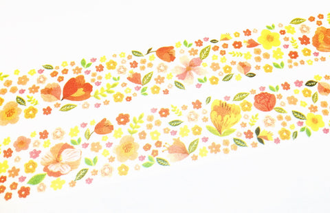 Aimez le style middle - Casual flower washi tape E04772