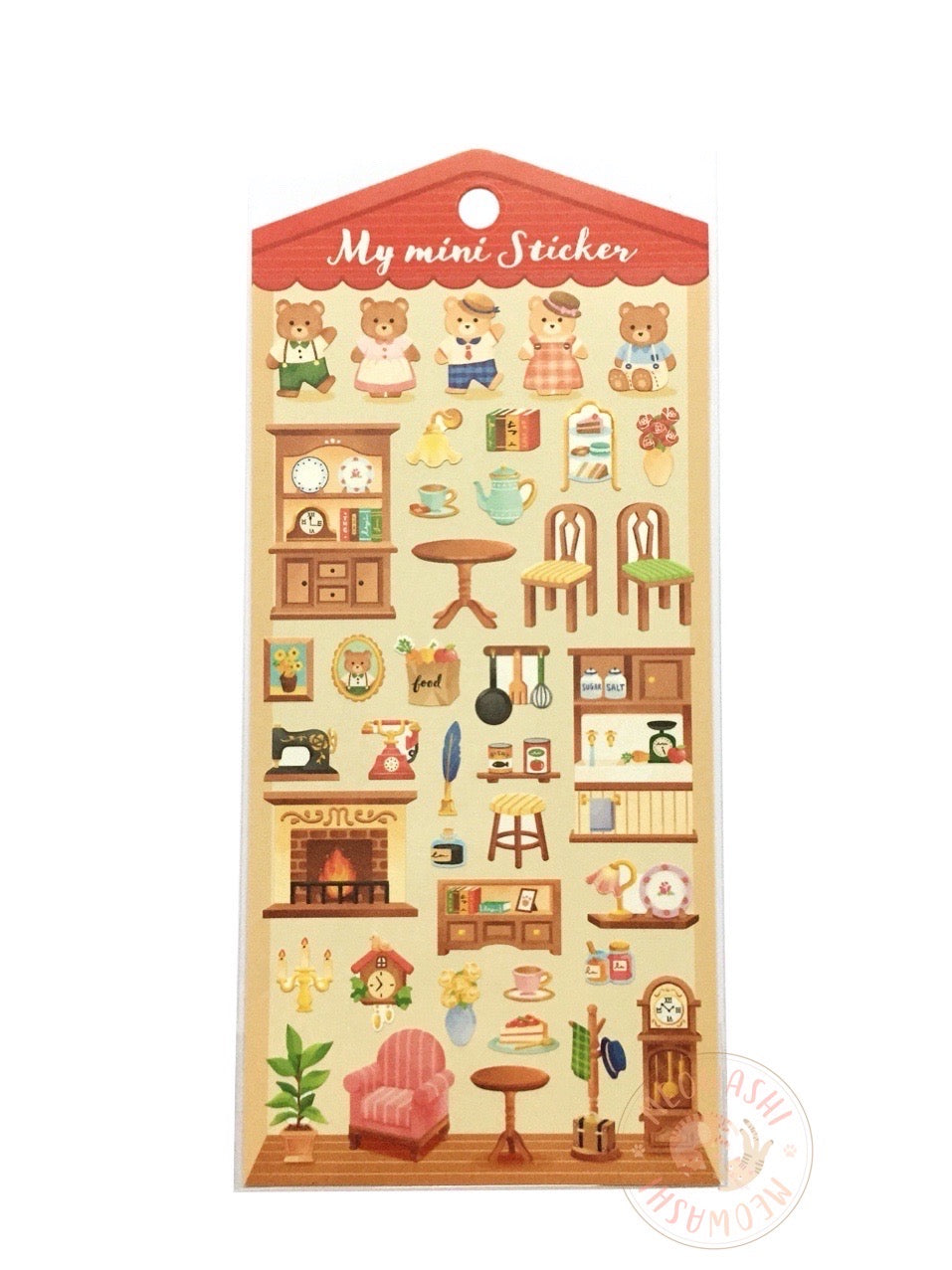 Mind Wave my mini sticker - Lovely home 79967