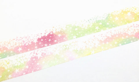 Star wishes - Day washi tape