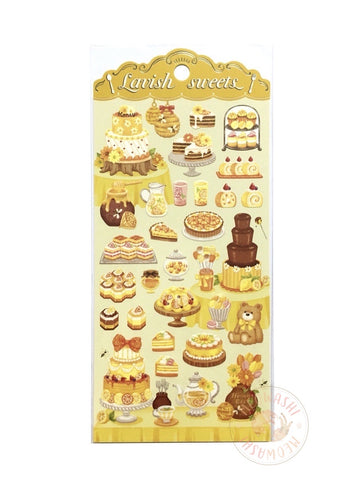 Mind Wave lavish sweets sticker - Yellow 80357