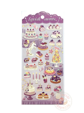 Mind Wave lavish sweets sticker - Purple 80358