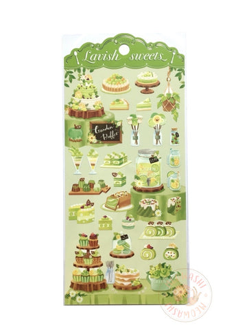 Mind Wave lavish sweets sticker - Green  80359
