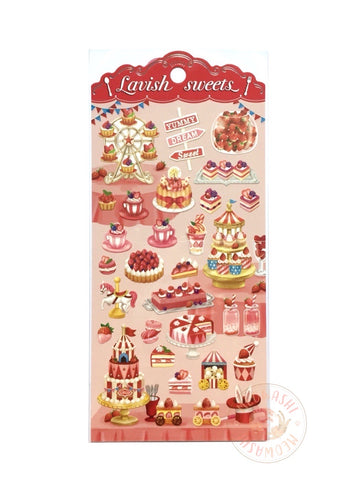 Mind Wave lavish sweets sticker - Red 80360