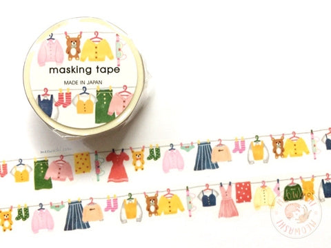 Mind Wave - Laundry die cut washi tape 94821
