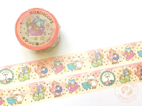 Round Top x Mika Yada - Aries washi tape