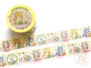 Round Top x Mika Yada - Cancer washi tape