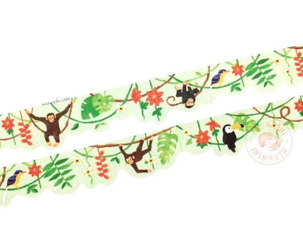 Mind Wave - Jungle die cut washi tape 94826