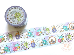 Round Top x Mika Yada - Leo washi tape