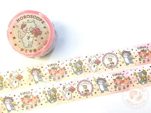 Round Top x Mika Yada - Virgo washi tape