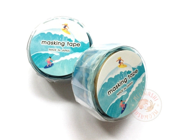 Mind Wave - Surfing die cut washi tape 94828