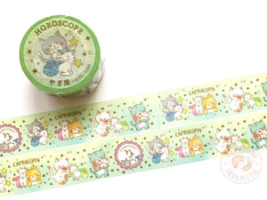 Round Top x Mika Yada - Capricorn washi tape
