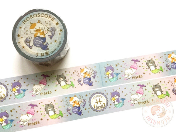 Round Top x Mika Yada - Pisces washi tape