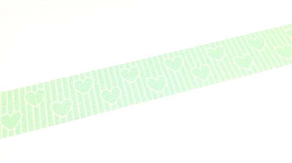 Kamoi mt deco - heart line washi tape MT01D330
