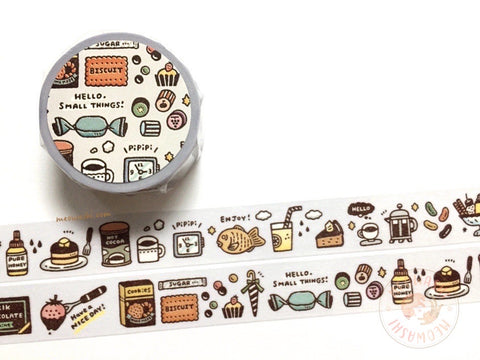 Papier Platz Eric small things - Sweets washi tape 37-861