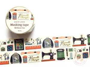 Papier Platz Eric small things - Sewing gold foil washi tape 37-862