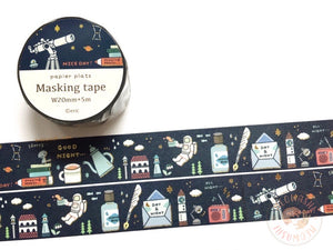 Papier Platz Eric small things - Cosmic gold foil washi tape 37-863