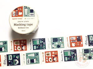 Papier Platz Eric small things - Films gold foil washi tape 37-864