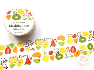 Papier Platz mizutama - Fruit washi tape