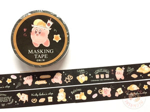 Kamio Japan - Kirby baker's shop washi tape 28114