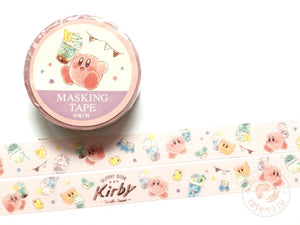 Kamio Japan - Sunny side Kirby washi tape 28115