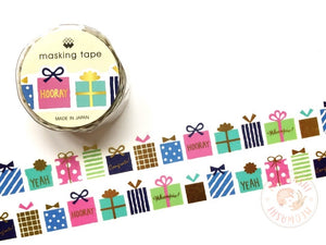 Mind Wave special gifts gold foil die cut washi tape 93280